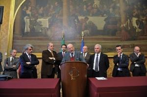 25marzo2013_delegazione ambientalista all'uscita dall'incontro con Bersani_fotoUmbertoBattaglia_400