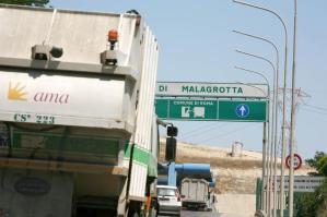 236999 La discarica di Malagrotta (archivio)